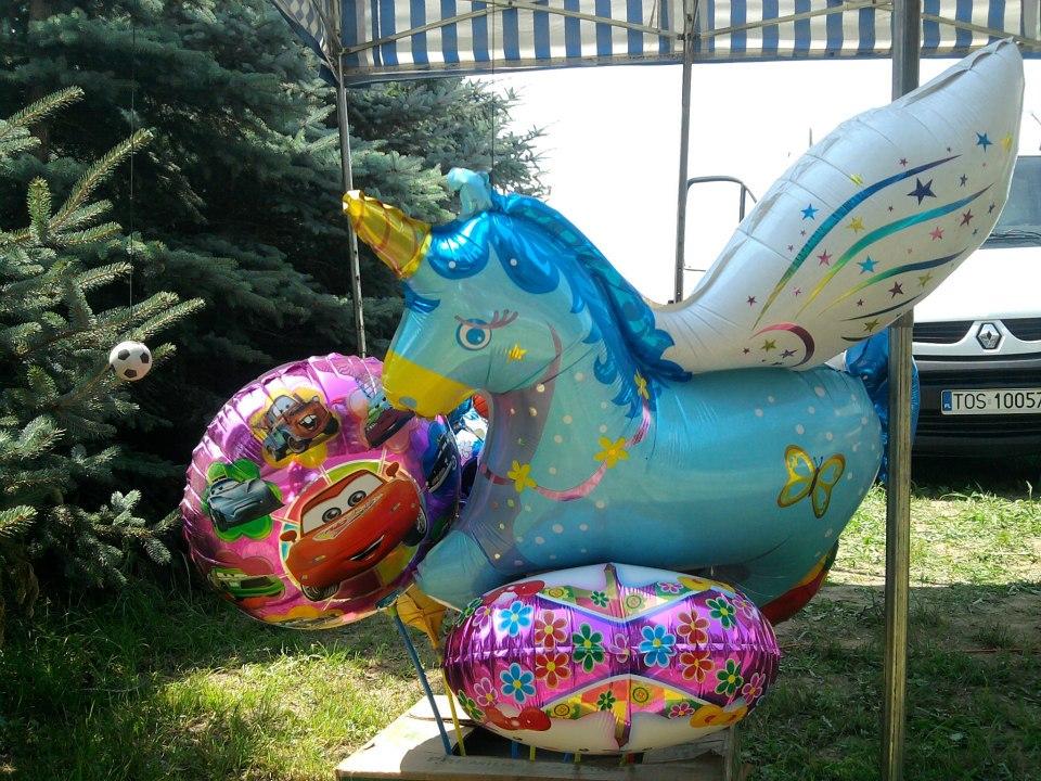 Balony wypełnione helem